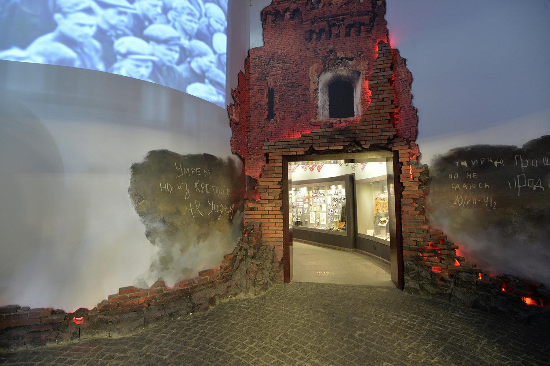 Линия Сталина и Музей ВОВ