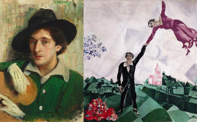 «La Marche» en compagnie de Marc Chagall