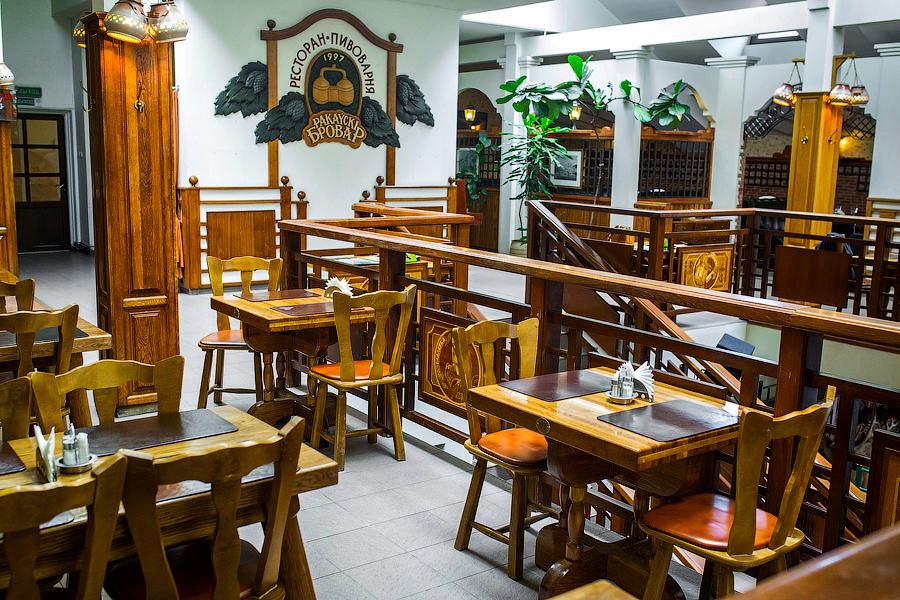 restaurant Rakovsky Brovar in Minsk