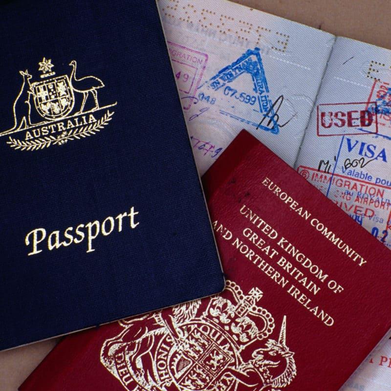 Soporte del visado