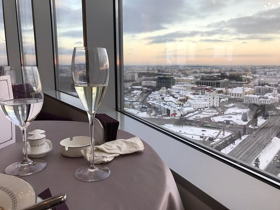 restaurant The View in Minsk