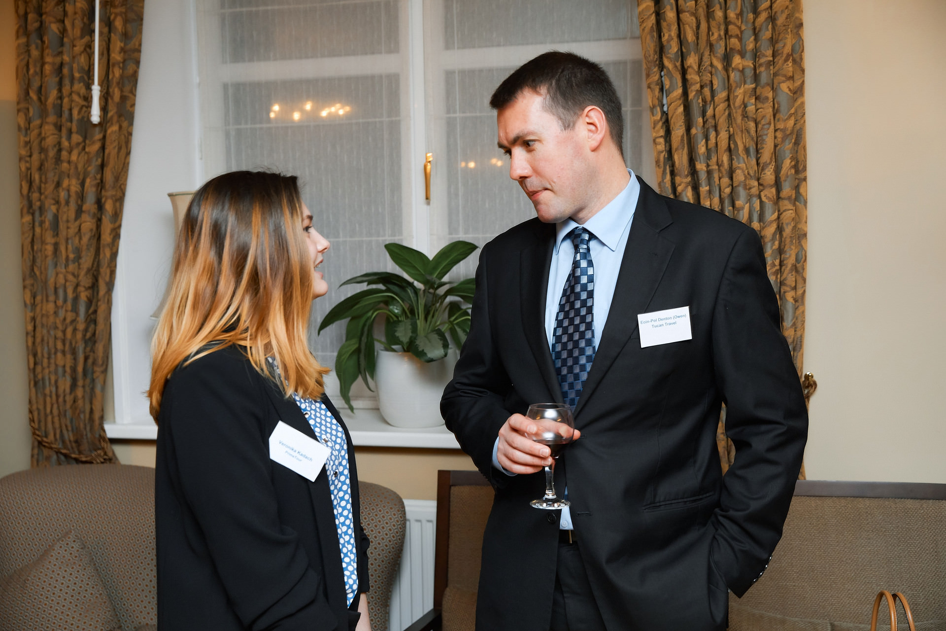 Business dinner at the British Embassy